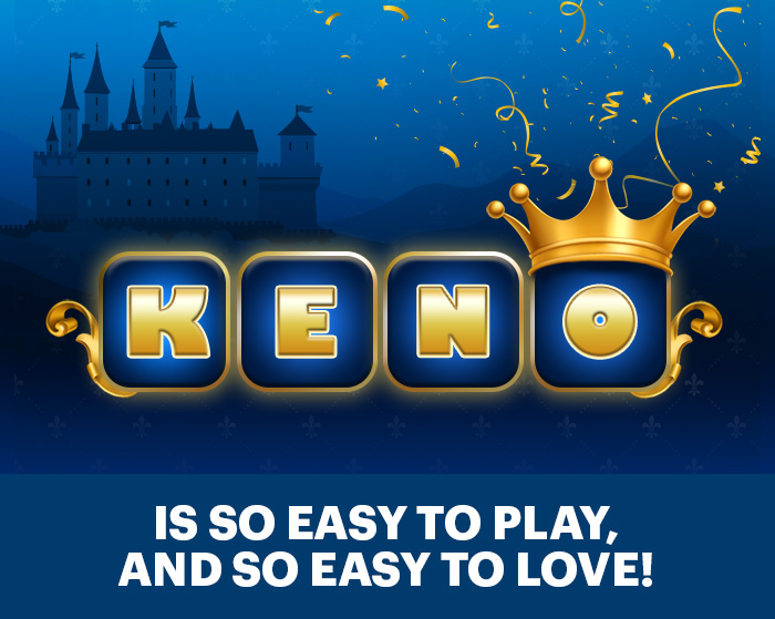 Keno is so easy to play, and so easy to love!