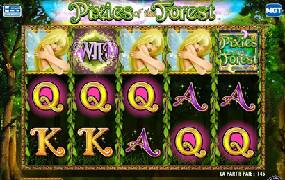 Play Pixies of the Forest Slot Machine for Gratis Online. The Wild and the Bonus symbol are the prime ones to work to your benefit. The symbols, starting with the logo, will be prepared to reward you with wins, for 3, 4, or 5 identical ones. The logo will lead the way, with maximum 2,