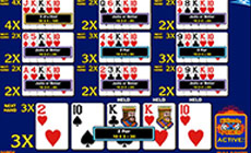 Ultimate X Ten Play Draw Poker