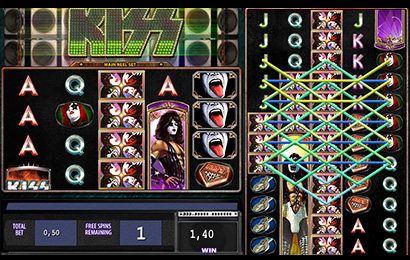 Kiss Shout it out Loud Online Slot Machine for Real Money